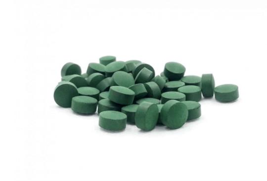 سبيرولينا على شكل أقراص