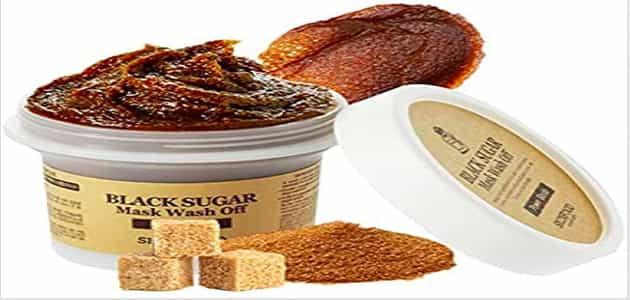 قناع ماسك السكر الاسود الكوري Skin Food من اي هيرب