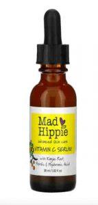 Mad Hippie Skin Care Products, مصل فيتامين سي ، 8 مكونات فعالة، 1.02 أونصة سائلة